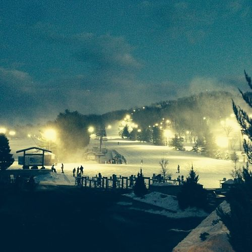 The view. Liberty Slopesss Snowboarding Ride burton icy nightlife