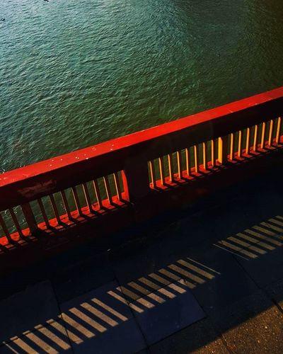 Bridge over Water (Day 74 of 366) Water London Bridge Colour Galaxys6edge Samsung SnapSeedApp Nickblak