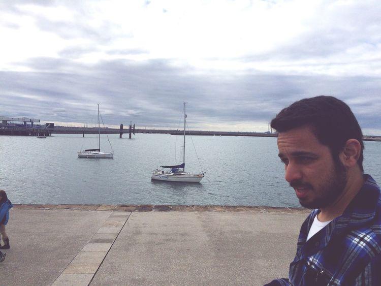 By the pier last week Sonu&Chelle Love Him Sea Walk Beautiful