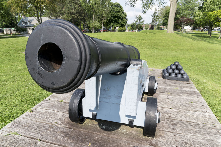 Cannon Canon Canon Ball Day Firepower Grass History Lawn Military No People Outdoors Park - Man Made Space Tree War Weapon