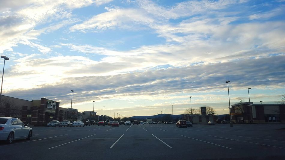 When the ground is too busy and all you want to do is be in the clouds. Parking Lot Clouds Sky