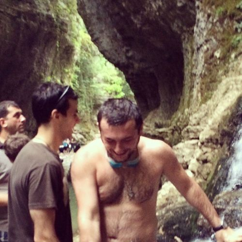 )) Martvili Kanioni Waterfall