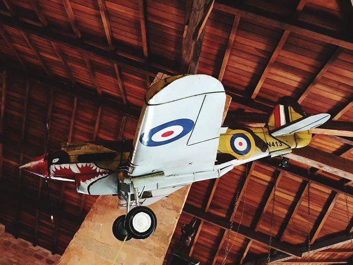 Airplane In The Sky Warairplane