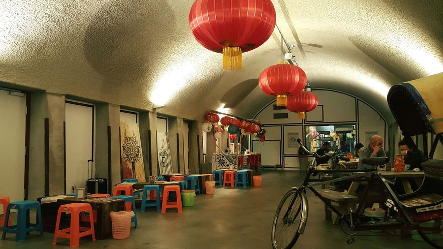 Food Dinner Noodles Feast Spicy Architecture Project City Exploring Architecture_collection Architectural Detail Building Photography Urban City Life Bike Chinese Food Lamps Chairs Concrete Old Buildings Old Train Station Restaurant Decor Restaurant