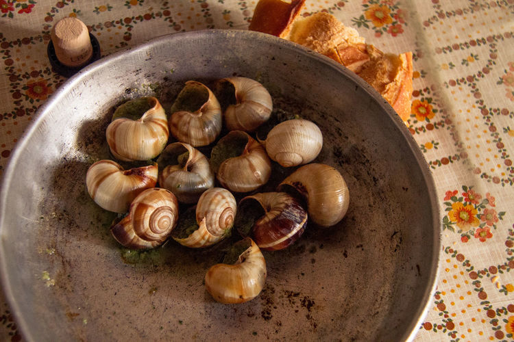 Close-up Cooking Day Delicious Escargots Food French Food Freshness Grandma's Kitchen Healthy Eating Indoors  No People