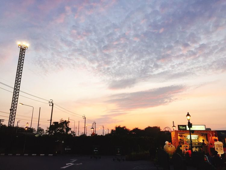 Chocolate villie in BKK. Sunset Cloud - Sky Sky Nofilter#noedit Thailand Bangkok