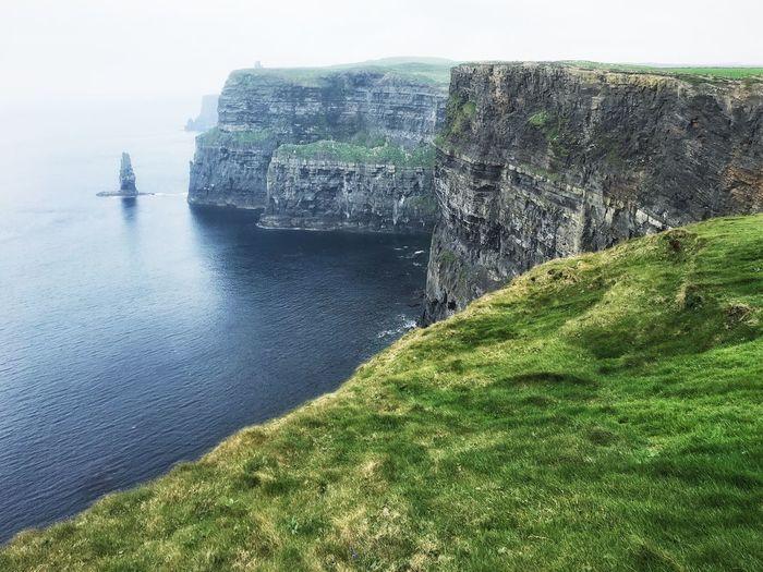Landscape Seascape Cliffs Cliff Ireland IPhoneography Mobilephotography Vscocam VSCO
