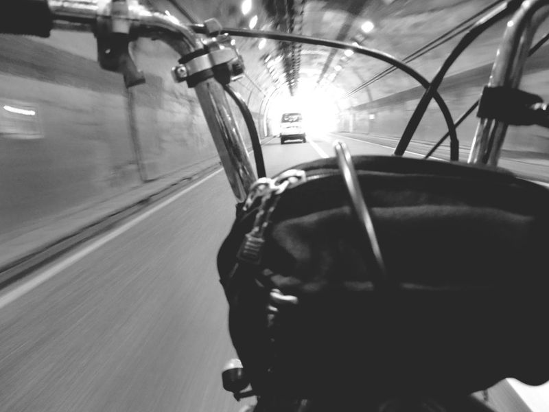 Motorcycle Motorcycle Trip Monochrome Black And White