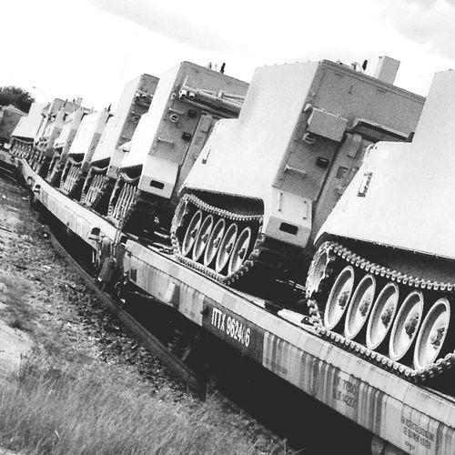 Tanks a lot. Tanks, No Thanks Train Military Style Military Rail Transportation Tanks Railroad Track Transportation