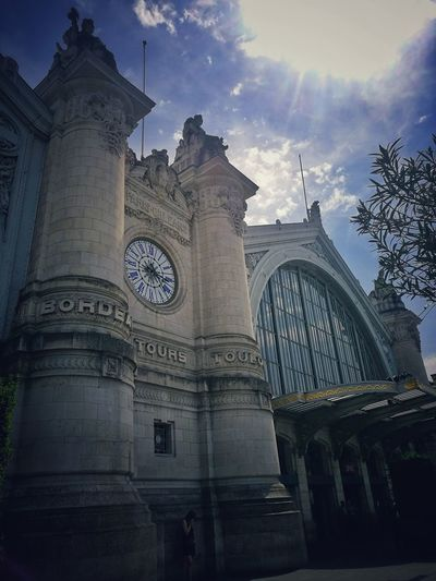 Travel Destinations Architecture History Low Angle View Train Station