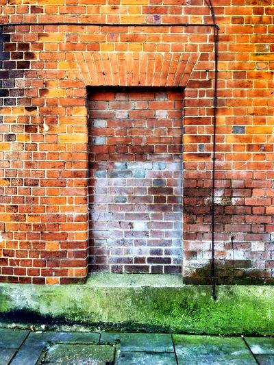 Doornomore Dorking Beauty Of Decay Brickswork Warm Doors Brick Grunge Door Orange