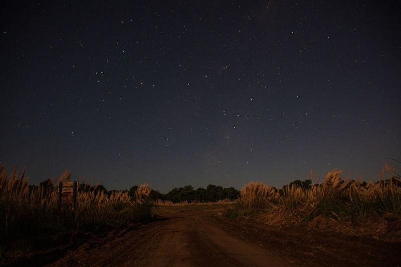 Long exposure in pinamar, buenos aires, argentina