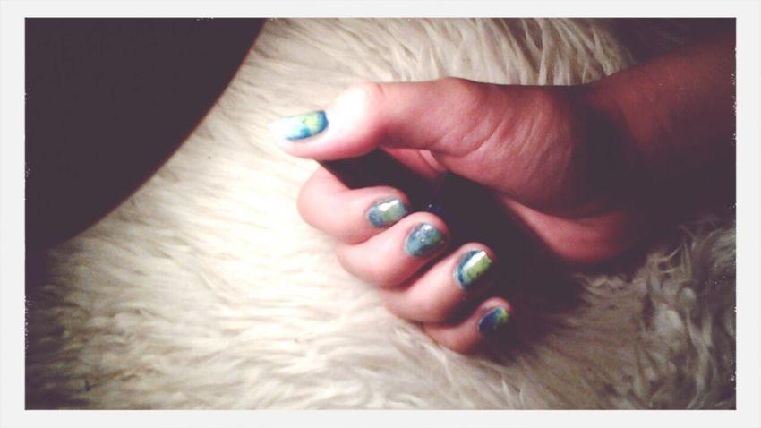 Nail Art Inspired By Galaxy Galaxy Nails Kiko❤