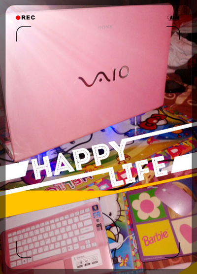 Welcoming New Vaio Home (*¯︶¯*)