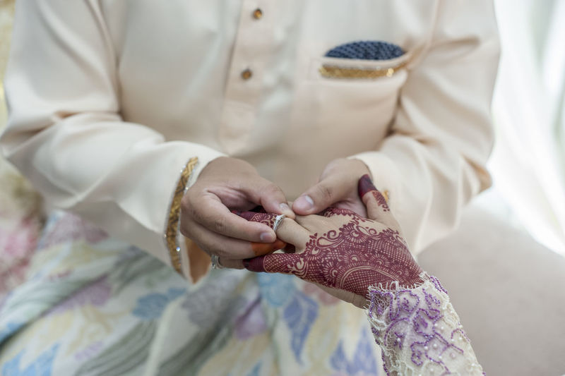 New life for together EyeEmSelect EyeEm Best Shots Getty Images Midsection Human Body Part Human Hand Adult Hand Clothing People Holding Bride Wedding Newlywed Event Ceremony Close-up Wedding Ceremony Celebration Life Events Women Traditional Clothing