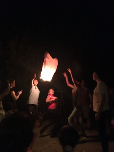 Trying to make a lantern fly ShotOnIphone Lantern Family Group Of People Night Arts Culture And Entertainment Adult Women Men HUAWEI Photo Award: After Dark People Real People Event Togetherness Illuminated Group Burning Young Adult Young Women