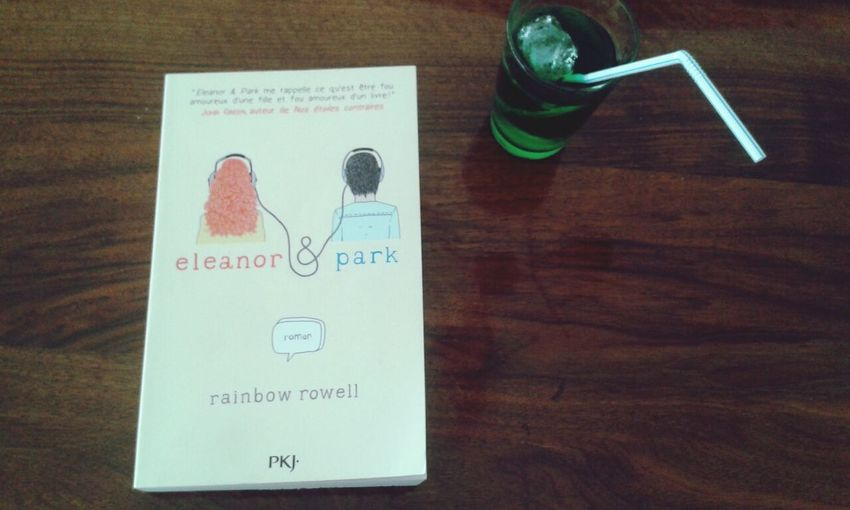 Eleanor and Park Rainbow Rowell Reading A Book Menthe à L'eau