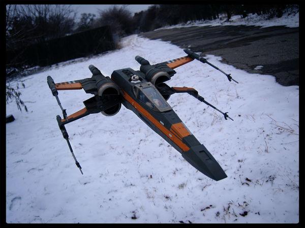 Poe Dameron X-wing Xwing