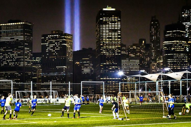 DUMBO Brooklyn The Best Of New York Cityscape City Lights Soccer Nightlife New York City Cities At Night