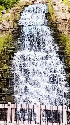 """Outdoor Waterfall"""" Outdoor Waterfall The Creative - 2018 EyeEm Awards The Great Outdoors - 2018 EyeEm Awards The Street Photographer - 2018 EyeEm Awards The Still Life Photographer - 2018 EyeEm Awards Water Found On The Roll Rocks And Water Flowing Water Water Backgrounds Stream - Flowing Water Falling Water Flowing"""