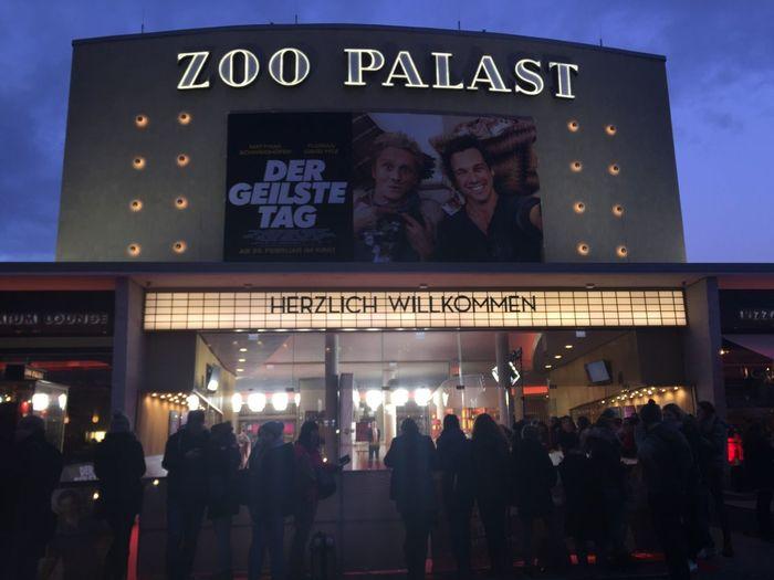 Cinema In Your Life Berlin Zoopalast MyCity❤️ Dergeilstetag Premiere FlorianDavidFitz Matthiasschweighöfer First Eyeem Photo