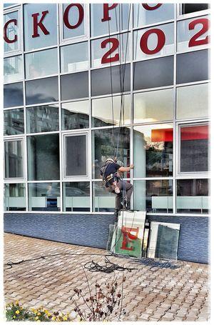 Streetphotography Urbanphotography Streetphotography Climbing Climber Window Reflections