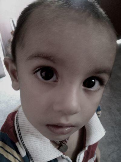 Cute, Kid, Eyes