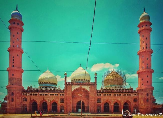 Taj-ul-Masajid Clickclick Indiapictures Bhopalclick Sensational Itsphotosensation😎