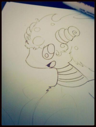 Drawing mega Ampharos from pokemon ♥ Drawing,