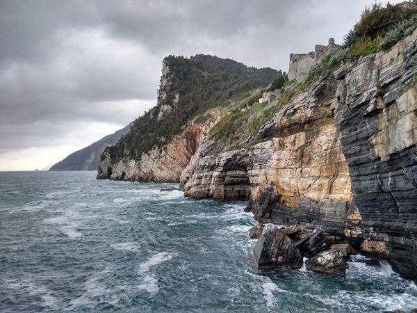 Portovenere Liguria Laspezia Seascape Italy