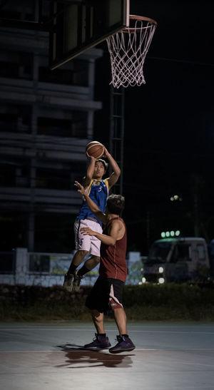 Basketball, Jump shoot Activity Basketball Flying Game Hoop Jump Jump Shoot  Lay Up Man Nice Play Player Playing Shoot Sport Teenager Thai Thailand