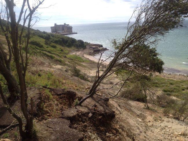 Beach Landslides Isle Of Wight  Amazing