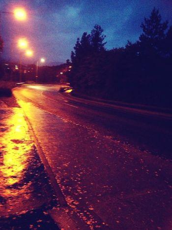 wet monday morning