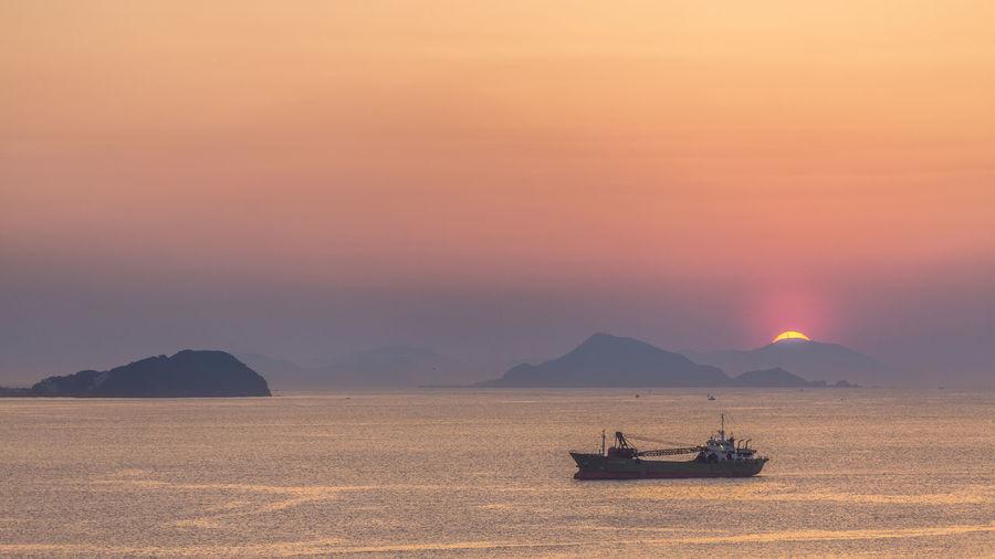 Ise bay Sunset