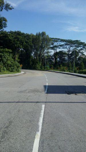 Road Hill. Bukit tunku Traveling Road Bookfairpwtc Helloworld Sunrise Weekend Kuala Lumpur Malaysia