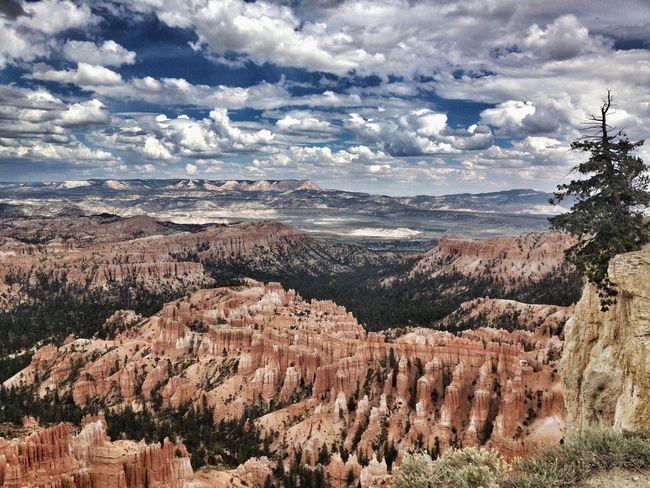 Utah Bryce Canyon Nationalpark Sky Clouds