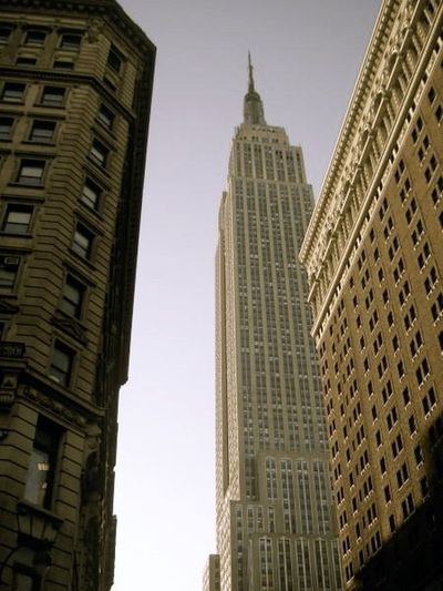 New York Empire State Building City Life Lookingup