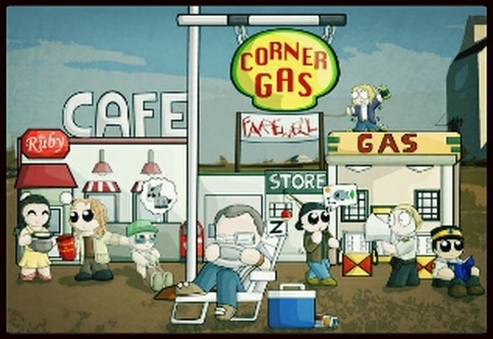 Corner gas rox Relaxing Check This Out