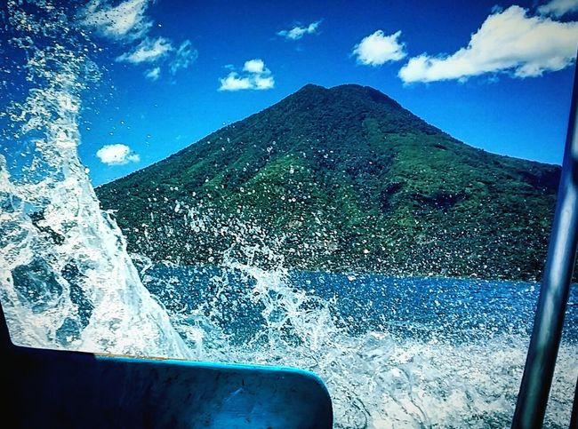 Lake Boat Water Vulcano Nature Nature Photography Traveling Travel Photography Blue Blue Water