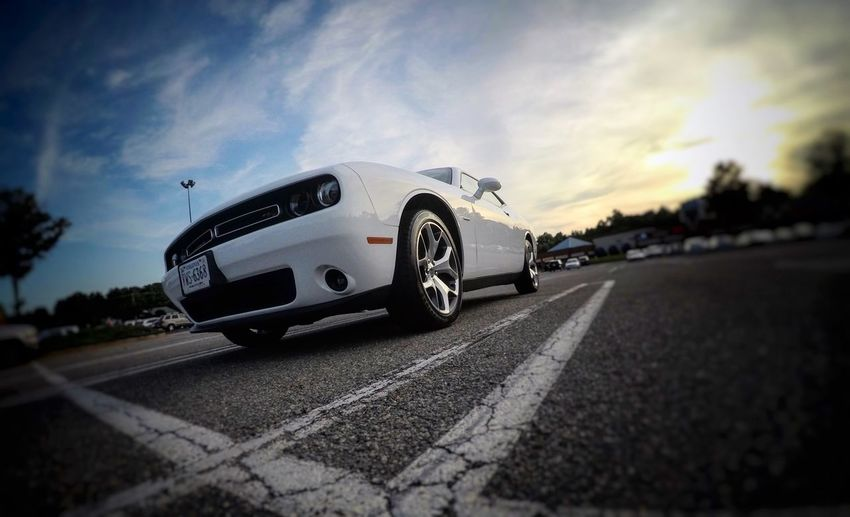 EyeEmNewHere Car Street Dodge Challenger Muscle Cars