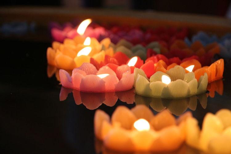 Candle Flame Celebration Burning Sweet Food Chinese New Year Indoors  Traditional Festival Cake Table Birthday No People Diwali Dessert Chinese Lantern Festival Illuminated Birthday Cake Multi Colored Diya - Oil Lamp Day