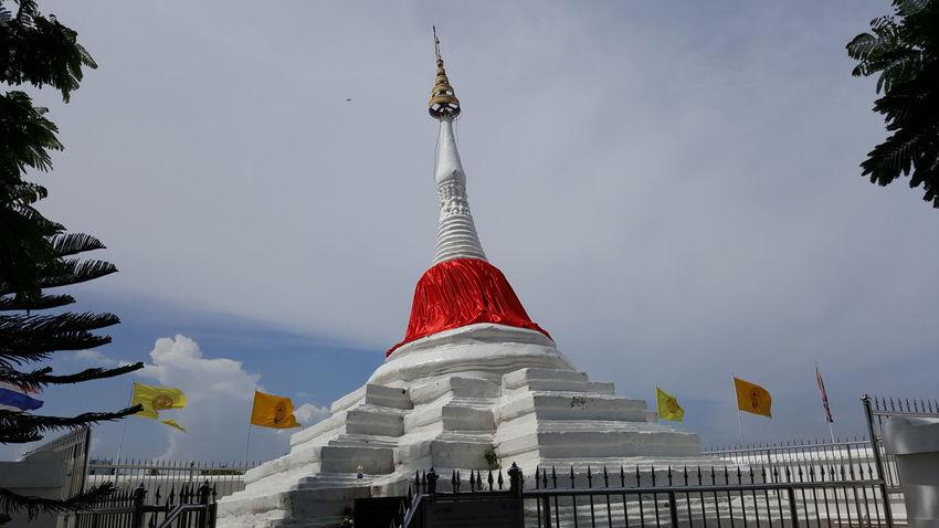 Sky Nature Beautiful Nature Statue Thailand Thailand Thai Sky,thailand, Garden Photo Measure Pagoda Travel