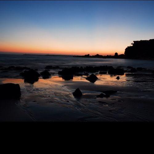 Beach #longexposure #lowlight #shore #sunset