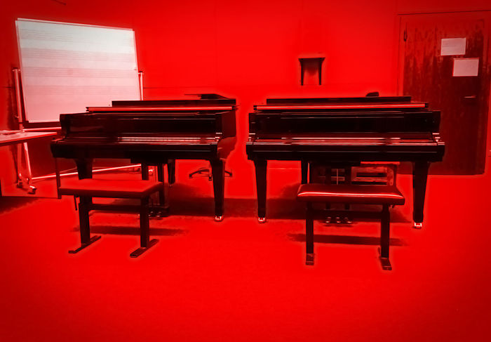 rot 1 Arrangement Arts Culture And Entertainment Bloodsweatandtears Everything In Its Place Indoors  Music Musical Instrument Musicschool Musicstudio Piano Sound Interior Views Things I Like Color Palette Two Is Better Than One