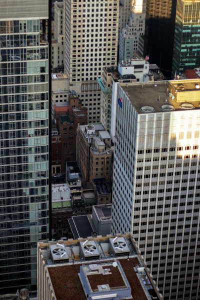 Looking Down Building Exterior Architecture Built Structure Building City No People High Angle View Office Building Exterior Day Outdoors Residential District Container Skyscraper Business Cityscape Office Nature Street Rooftops City New York Travel Destinations