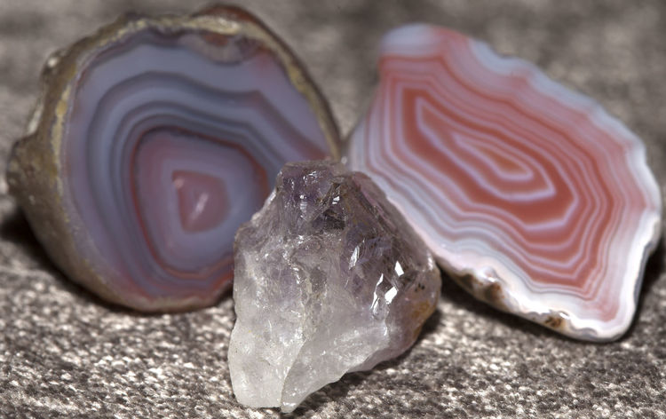 Trio of stones Agate Stone Close-up Indoors  No People Polished Stone Polished Surface Rings Semi Precious Stones Stones And Pebbles