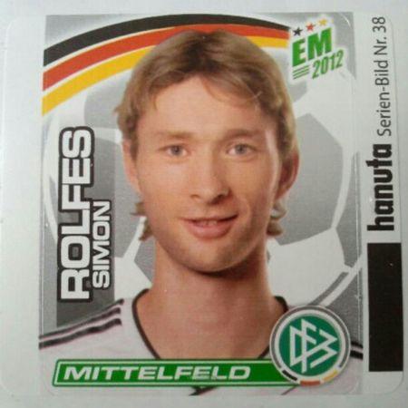 Fußballgott Simon Rolfes EM2012 Hanuta Duplo
