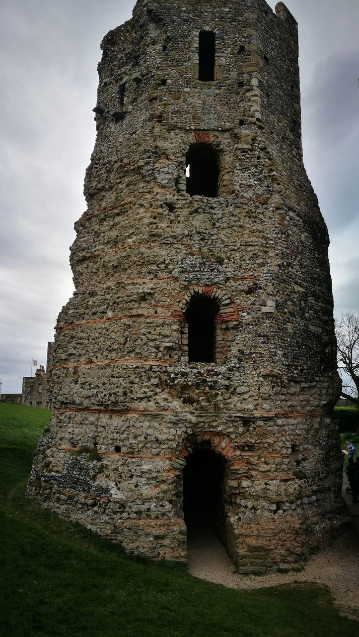 history, the past, architecture, built structure, old ruin, old, ancient, day, ancient civilization, sky, travel destinations, low angle view, outdoors, no people, building exterior, grass