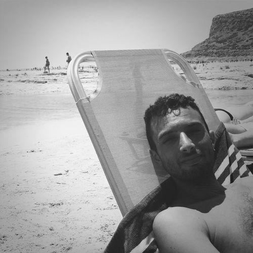 Hello World Black&white Enjoying Life Crete Greece that's life