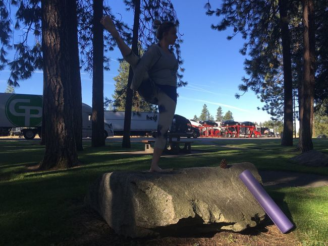 Morning Morning Yoga Yoga In Nature Bird Of Paradise My Yoga Studio Yoga Yoga Pose Seattle, Washington